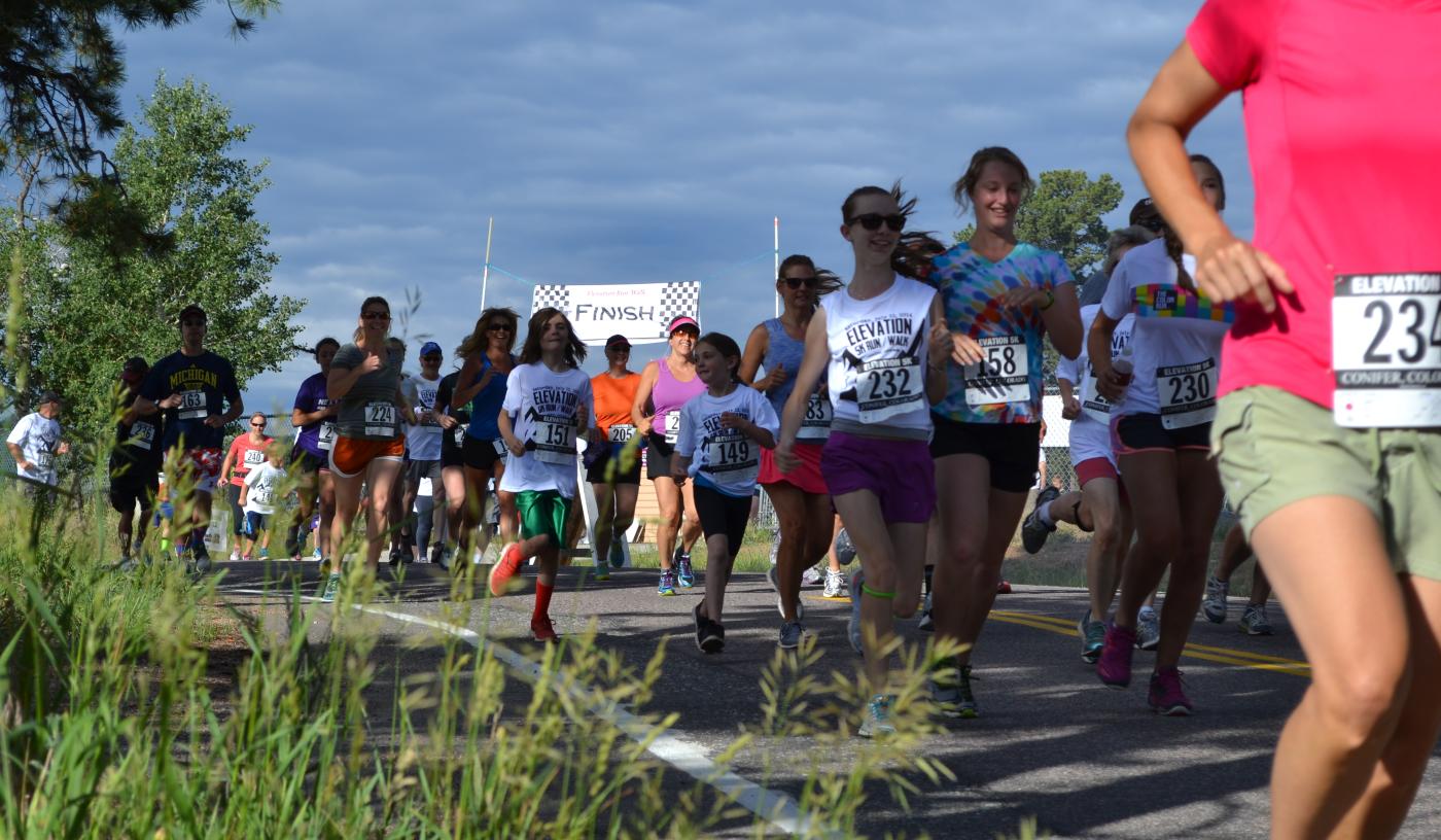 The Elevation Run/Walk  Hybrid Event