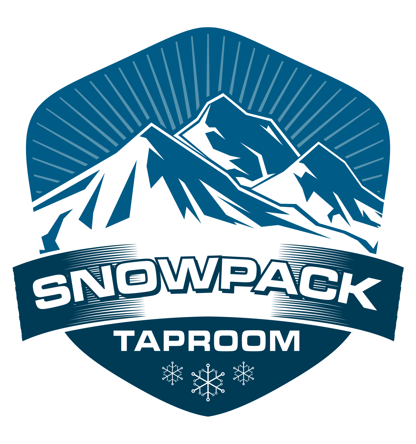 Snow Pack Taproom Logo